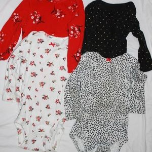 4 Pack Bodysuits